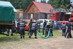 Incendiu la o anexă gospodărească din comuna Vințu de Jos. Focul s-a extins și la casa vecinilor