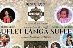 """Concert caritabil de colinde """"Suflet lângă suflet pentru Sabrina și Tiberiu"""""""