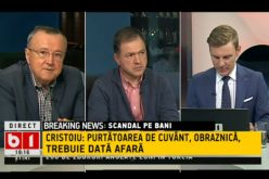 Mădălina Dobrovolschi, atacată dur de Ion Cristoiu: e obraznică și analfabetă