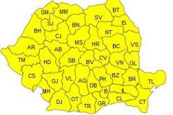 ATENŢIONARE METEO. Cod galben de ger în toată ţara. Prognoza pe următoarele zile