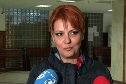 Lia Olguța Vasilescu: Legea salarizării este în linie dreaptă.