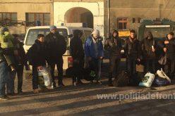 12 irakieni, între care 3 copii, prinși la frontieră pe când încercau să iasă ilegal din România