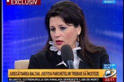 "Judecatoarea Gabriela Baltag membru in CSM isi avertizeaza colegii: ""Astazi, unii spun ca nu vor anumite legi, iar maine vor striga ca nu mai doresc instante!"""