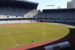 FOTO: Cum arată gazonul de pe Cluj Arena și ce lucrări vor mai fi făcute pentru meciul de fotbal România-Danemarca