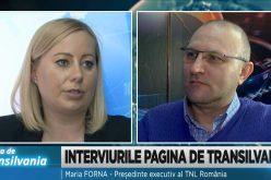 Interviurile Pagina de Transilvania / invitat Maria Forna, presedinte executiv al TNL Romania