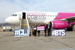 Wizz Air sărbătorește 7.000.000 de pasageri pe Aeroportul Cluj. Au lansat și o nouă rută, de la Cluj FOTO / VIDEO