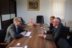 FOTO Ambasadorul Regatului Danemarcei s-a întâlnit cu reprezentanții Consiliului Județean Cluj