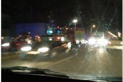 FOTO: Accident grav. Un bărbat a murit după ce a fost lovit de o mașină pe o stradă din Cluj