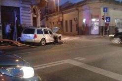 VIDEO: Accident în Cluj-Napoca pe Calea Moților, doi adulți și un bebeluș au fost răniți grav