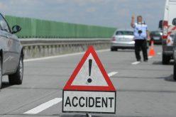 Carambol pe autostradă spre Arad: 3 autoturisme, 4 victime și circulație oprită pe sensul către Arad al autostrăzii A1 Pecica