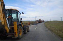 Petrești-Lita, primul drum reabilitat din creditul de 50 de milioane de euro luat de CJ Cluj