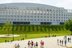 GALERIE FOTO Vezi cum a fost amenajată Sala Polivalentă Polivalentă din Cluj. Aici vor avea loc Campionatele Europene de Gimnastică Artistică