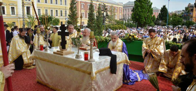 FOTO: Procesiunea de Rusalii închide, duminică, centrul Clujului. Preoții vor înălța rugăciuni pentru roadele pământului