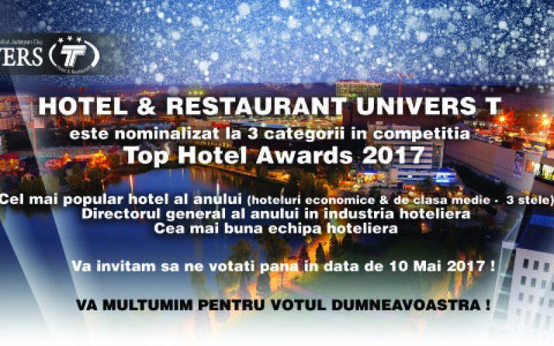 Univers T, în elita industriei hoteliere din România