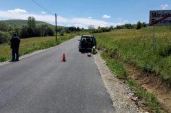 FOTO A fost finalizată asfaltarea unui tronson al drumului județean Mănăstireni – Râșca