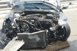 VIDEO EXCLUSIV: Accident teribil pe A3 Turda-Borș. Vitezoman în vârstă de 20 de ani și-a făcut mașina praf chiar sub ochii polițiștilor de la rutieră.