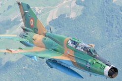 MiG 21 Lancer prăbuşit la Constanţa. Pilotul s-a catapultat