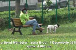 VIDEO Cinci noi parcuri pentru câini au fost deschise la Cluj-Napoca