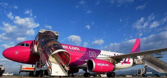 """Aeroportul Internațional """"Avram Iancu"""" Cluj anunță lansarea zborurilor pe ruta Cluj-Napoca-Birmingham-Cluj-Napoca operate de compania aeriană Wizz Air"""