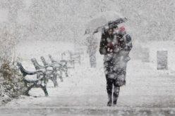 ANM: Cod galben de ninsori, ploi și vânt punternic în mai multe județe din țară