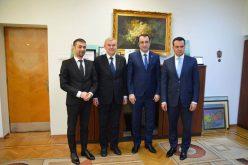 Ambasadorul Republicii Belarus, Andrei Grinkevich în vizită de lucru în Maramureș