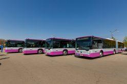 Curse speciale și un proiect pilot destinat transportului elevilor din Cluj