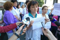 Protest la Spitalul Judeţean de Urgenţă Cluj. Angajatii cere demisia conducerii