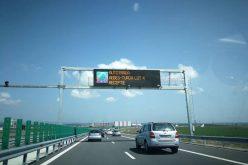 Se circulă pe bucata de autostradă Sebeș – Turda! Nu e glumă!