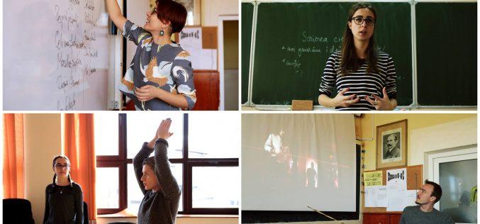 Lună creativă pentru liceenii din județul Cluj! Elevii vor putea participa ateliere de teatru și improvizație, atorie, film și gândire critică în media