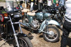 Inedit. Expozitie motociclete retro