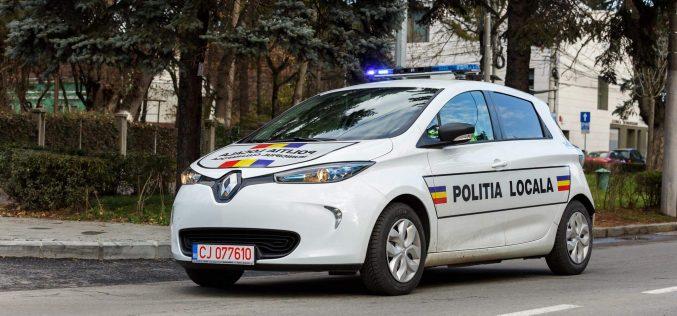 Primăria Cluj-Napoca: Prima administrație publică locală din România care dotează Poliția locală cu mașini electrice