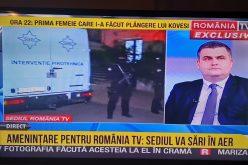 BREAKING NEWS / Amenințare cu bombă la România TV, după dezvăluirile despre Kovesi. În platou este și Ministrul Apărării – FOTO