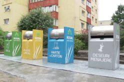 Cluj: Platforme subterane pentru colectarea selectivă a deșeurilor menajere și saci personalizaţi cu cod de bare pentru aruncarea gunoiului.