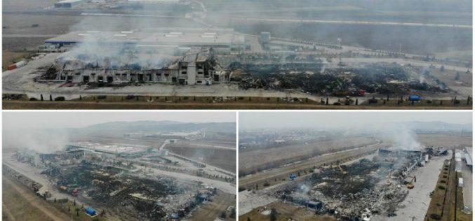 Demersuri pentru reconstrucția fabricii Solina, distrusă în totalitate de un incendiu