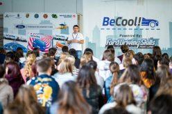 Campionii de la Napoca Rally Academy țin ore de educație rutieră pentru liceenii din Cluj-Napoca
