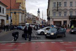 Cluj: Trafic paralizat cu mașini pe avarii, drum național blocat cu un tractor | VIDEO