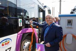 11 noi autobuze electrice au intrat in circulatie la Cluj-Napoca. O treime din transportul public al municipiului este deja electric