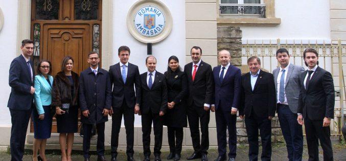 FOTO/VIDEO: O delegație a Consiliului Județean a fost invitată la sediul Guvernului din Luxemburg