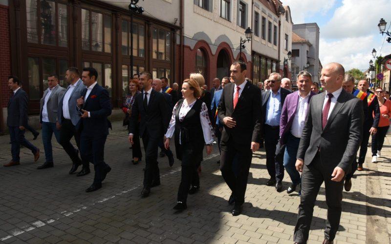 """Parada portului popular din cadrul evenimentului """"Zilele Maramureșului"""" – o atracție pe străzile municipiului Baia Mare"""