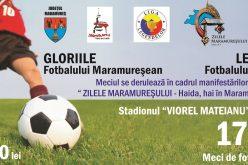 Meci de fotbal caritabil între Gloriile fotbalului maramureșean și Legendele fotbalului românesc. Detalii AICI…