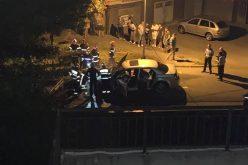 VIDEO: O masina a ars ca o torță in cartierul Zorilor din Cluj-Napoca