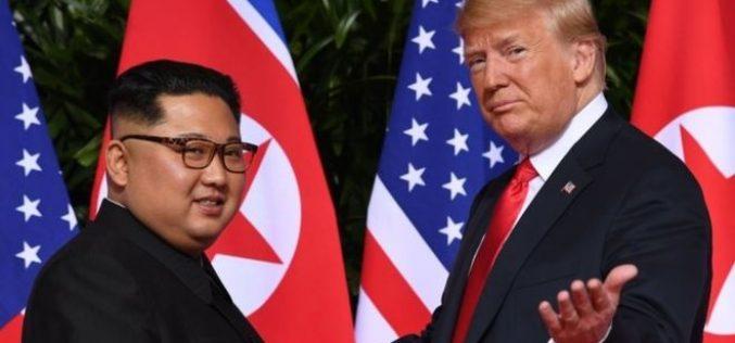 Donald Trump a anunțat că l-a invitat pe Kim Jong Un la Washington