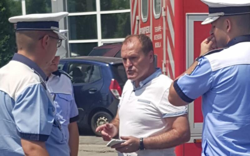 UPDATE: Milionarul clujean avea permisiul suspendat la momentul in care a calcat cu masina un om pe trecerea ed pietoni. Detalii AICI