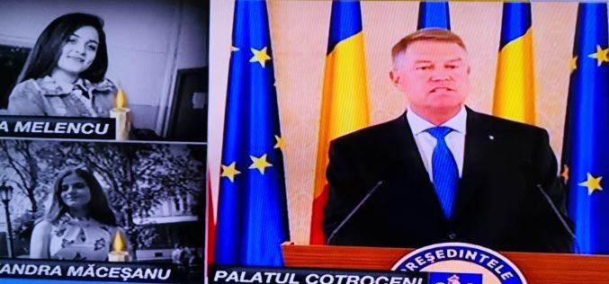 VIDEO: Iohannis, despre cazul Caracal: Guvernul să se gândească dacă nu este autorul moral