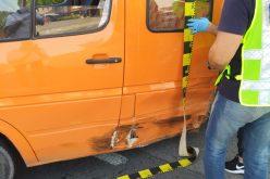 FOTO/ VIDEO: Accident la Jucu,un șofer a adormit la volan iar o femeie gravidă a fost rănită