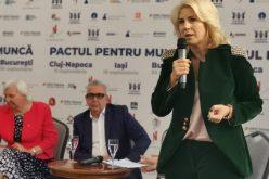 Cristina Chiriac (CONAF): Dacă vrem o pensie decentă, să avem angajaţi mulţumiţi, care nu pleacă în străinătate