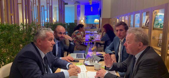 Europarlamentarul Daniel Buda, membru al Grupului PPE din PE s-a întâlnit cu Comisarul desemnat pentru Agricultură, Janusz Wojciechowski