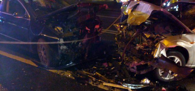 FOTO | Cinci persoane, printre care și doi copii, rănite într-un accident produs în Cluj-Napoca