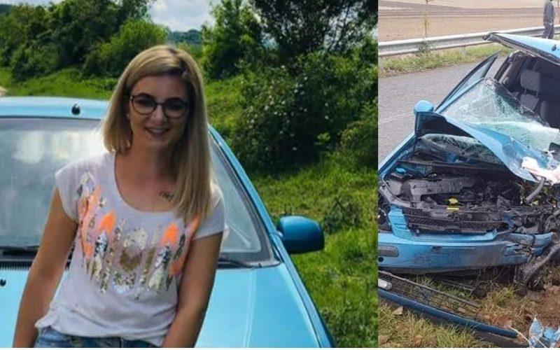 FOTO | A murit la volan. Ana Maria avea 21 de ani iar permisul de conducere de doar de 5 luni. Mama şi fratele tinerei se zbat între viață și moarte