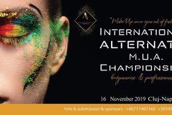 CLUJ: Primul Campionat Internațional de Make-up Alternativ din România